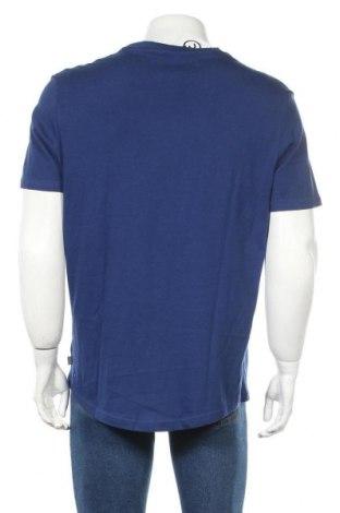 Мъжка тениска Pier One, Размер XL, Цвят Син, Памук, Цена 16,82лв.