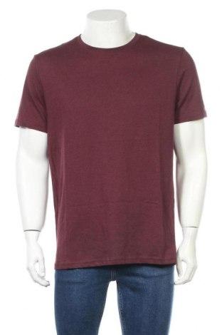 Tricou de bărbați Pier One, Mărime XL, Culoare Roșu, 80% bumbac, 20% poliester, Preț 66,77 Lei