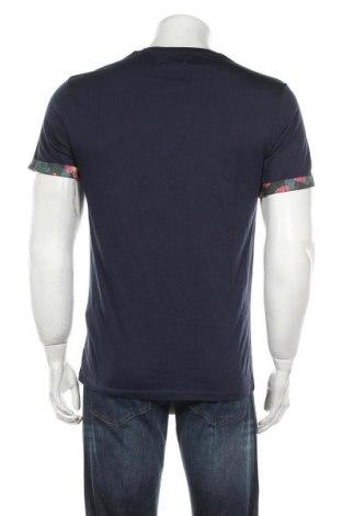Мъжка тениска Pier One, Размер M, Цвят Син, Памук, Цена 27,75лв.