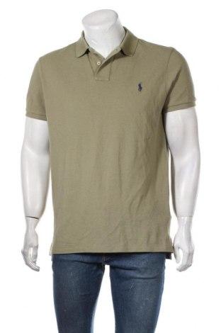 Ανδρικό t-shirt Polo By Ralph Lauren, Μέγεθος L, Χρώμα Πράσινο, Βαμβάκι, Τιμή 32,48€