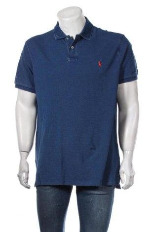 Ανδρικό t-shirt Polo By Ralph Lauren, Μέγεθος XL, Χρώμα Μπλέ, Βαμβάκι, Τιμή 43,30€