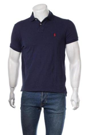 Ανδρικό t-shirt Polo By Ralph Lauren, Μέγεθος M, Χρώμα Μπλέ, Βαμβάκι, Τιμή 43,30€