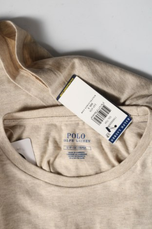 Мъжка тениска Polo By Ralph Lauren, Размер S, Цвят Бежов, Памук, Цена 66,75лв.