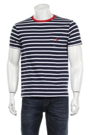 Мъжка тениска Polo By Ralph Lauren, Размер M, Цвят Син, Памук, Цена 66,75лв.
