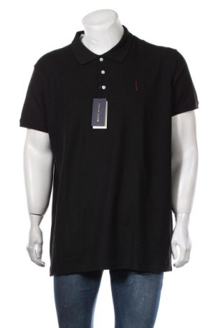 Ανδρικό t-shirt Polo Club, Μέγεθος XXL, Χρώμα Μαύρο, Βαμβάκι, Τιμή 13,92€