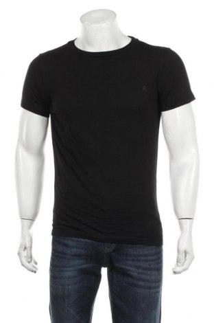 Мъжка тениска Replay, Размер S, Цвят Черен, Памук, Цена 24,70лв.