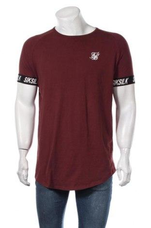 Ανδρικό t-shirt SikSilk, Μέγεθος XL, Χρώμα Κόκκινο, 95% βαμβάκι, 5% ελαστάνη, Τιμή 15,08€