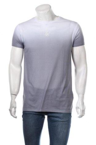 Мъжка тениска SikSilk, Размер S, Цвят Сив, Полиестер, Цена 27,00лв.