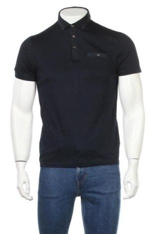Мъжка тениска Ted Baker, Размер M, Цвят Син, 100% памук, Цена 30,75лв.