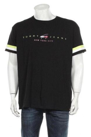Ανδρικό t-shirt Tommy Hilfiger, Μέγεθος XL, Χρώμα Μαύρο, Βαμβάκι, Τιμή 24,74€