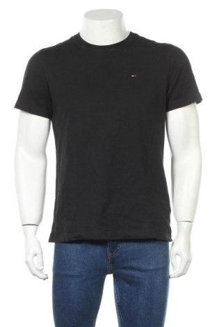 Ανδρικό t-shirt Tommy Hilfiger, Μέγεθος S, Χρώμα Μαύρο, Βαμβάκι, Τιμή 38,14€