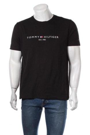 Ανδρικό t-shirt Tommy Hilfiger, Μέγεθος XL, Χρώμα Μαύρο, Βαμβάκι, Τιμή 28,61€