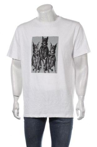 Мъжка тениска Urban Threads, Размер S, Цвят Бял, Памук, Цена 10,76лв.