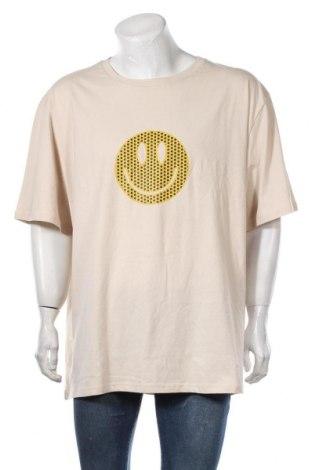 Мъжка тениска Urban Threads, Размер XXL, Цвят Бежов, Памук, Цена 21,00лв.