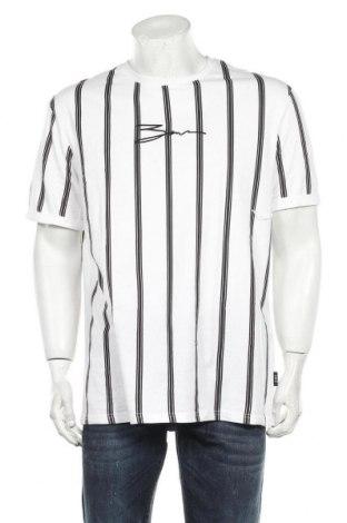 Мъжка тениска Zign, Размер XL, Цвят Бял, Памук, Цена 19,72лв.