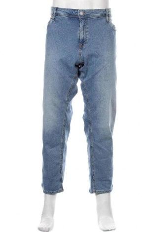 Мъжки дънки Jack & Jones, Размер XXL, Цвят Син, 98% памук, 2% еластан, Цена 51,75лв.