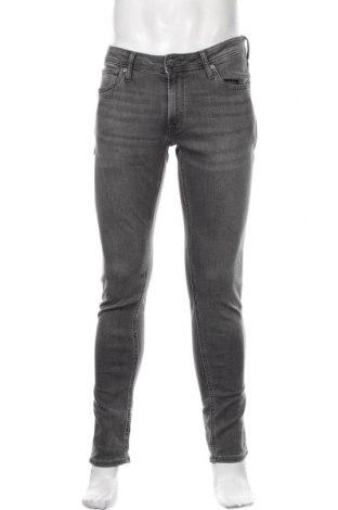 Мъжки дънки Jack & Jones, Размер M, Цвят Сив, 98% памук, 2% еластан, Цена 59,25лв.