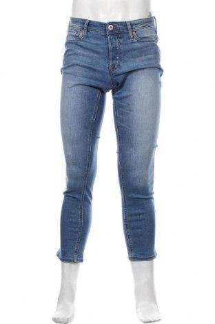 Мъжки дънки Jack & Jones, Размер S, Цвят Син, 70% памук, 28% полиестер, 2% еластан, Цена 63,00лв.