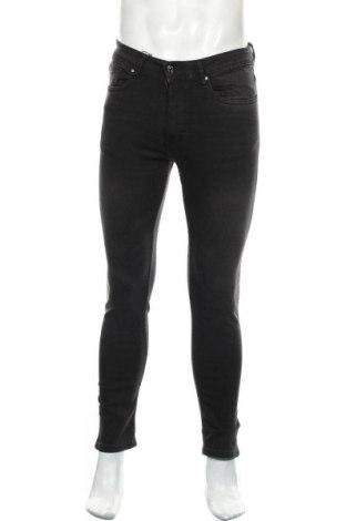 Мъжки дънки Zara, Размер M, Цвят Сив, 98% памук, 2% еластан, Цена 44,25лв.