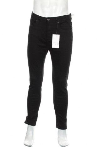 Мъжки дънки Zara, Размер M, Цвят Черен, 98% памук, 2% еластан, Цена 44,25лв.