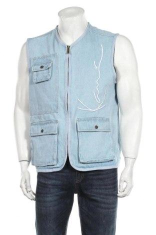 Ανδρικό γιλέκο Karl Kani, Μέγεθος M, Χρώμα Μπλέ, Βαμβάκι, Τιμή 29,39€