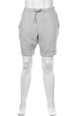Ανδρικό κοντό παντελόνι Calvin Klein, Μέγεθος M, Χρώμα Γκρί, 91% βαμβάκι, 9% πολυεστέρας, Τιμή 47,42€