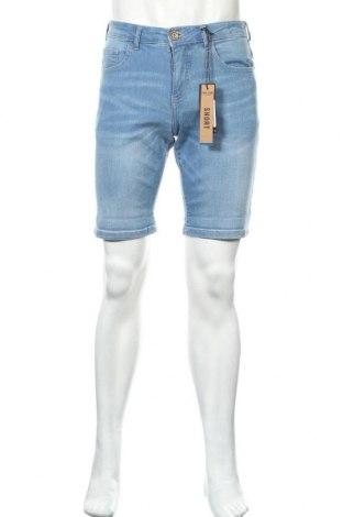 Мъжки къс панталон Cars Jeans, Размер S, Цвят Син, 98% памук, 2% еластан, Цена 28,60лв.