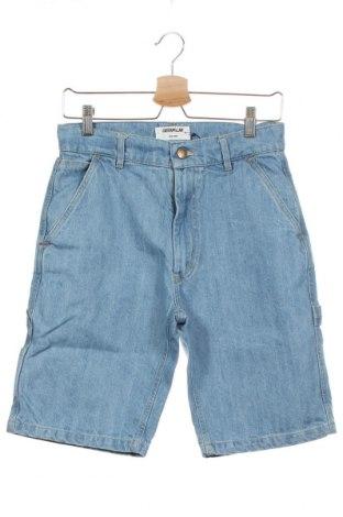 Pantaloni scurți de bărbați Caterpillar, Mărime XS, Culoare Albastru, Bumbac, Preț 97,70 Lei