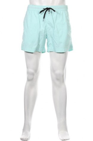 Мъжки къс панталон Champion, Размер L, Цвят Син, Полиамид, Цена 52,00лв.