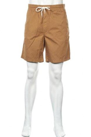 Ανδρικό κοντό παντελόνι H&M, Μέγεθος L, Χρώμα  Μπέζ, Βαμβάκι, Τιμή 12,06€