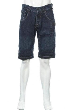 Мъжки къс панталон Jack & Jones, Размер L, Цвят Син, Памук, Цена 21,00лв.