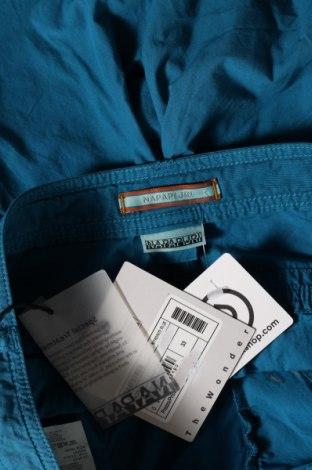Мъжки къс панталон Napapijri, Размер M, Цвят Син, Памук, Цена 70,95лв.