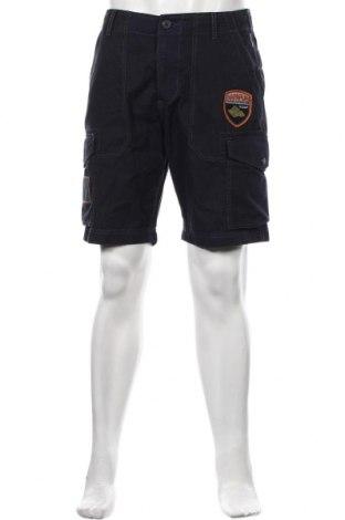 Ανδρικό κοντό παντελόνι Napapijri, Μέγεθος M, Χρώμα Μπλέ, Βαμβάκι, Τιμή 49,87€