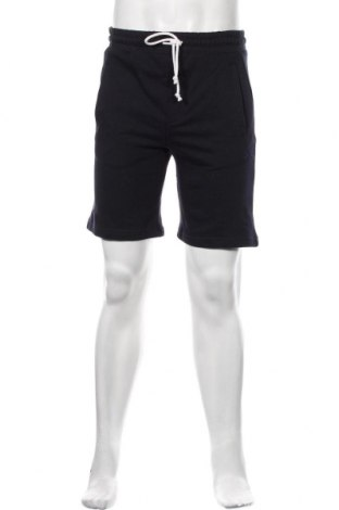 Мъжки къс панталон Pull&Bear, Размер XS, Цвят Син, 82% памук, 18% полиестер, Цена 49,00лв.