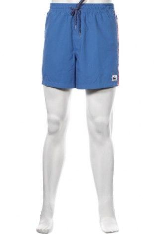 Мъжки къс панталон Quiksilver, Размер M, Цвят Син, Полиестер, Цена 69,00лв.