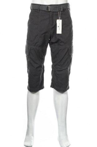 Мъжки къс панталон Tom Tailor, Размер L, Цвят Сив, Памук, Цена 44,25лв.