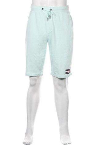 Ανδρικό κοντό παντελόνι Tommy Hilfiger, Μέγεθος S, Χρώμα Πράσινο, 68% βαμβάκι, 32% πολυεστέρας, Τιμή 42,27€