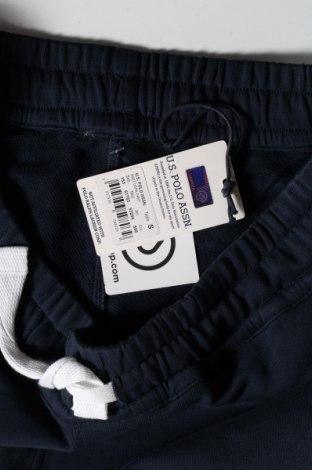 Мъжки къс панталон U.S. Polo Assn., Размер S, Цвят Син, Памук, Цена 49,50лв.