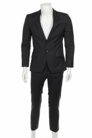 Ανδρικό κοστούμι S.Oliver, Μέγεθος M, Χρώμα Γκρί, 80% πολυεστέρας, 20% βισκόζη, Τιμή 29,69€