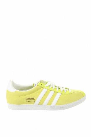 Мъжки обувки Adidas Originals, Размер 42, Цвят Зелен, Естествена кожа, еко кожа, Цена 72,60лв.