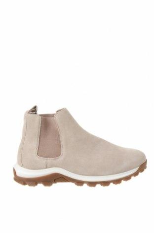 Мъжки обувки Zara, Размер 41, Цвят Бежов, Естествен велур, Цена 58,50лв.