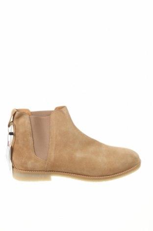 Pánské boty Zara, Velikost 45, Barva Béžová, Přírodní velur , Cena  521,00Kč