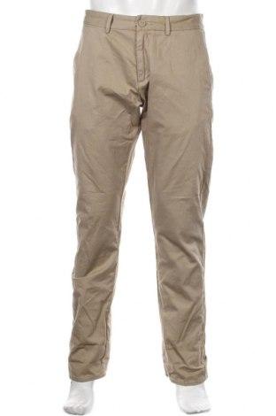 Мъжки панталон Napapijri, Размер M, Цвят Бежов, Памук, Цена 171,75лв.