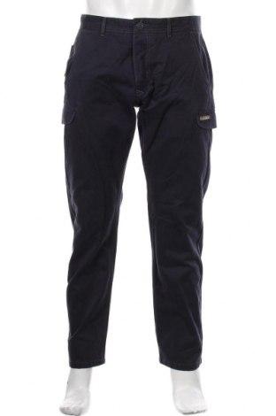 Мъжки панталон Napapijri, Размер M, Цвят Син, Памук, Цена 171,75лв.