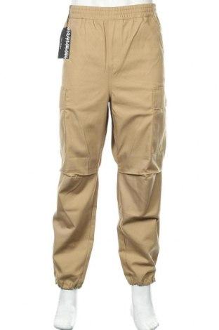 Мъжки панталон Napapijri, Размер L, Цвят Бежов, 65% полиестер, 35% памук, Цена 171,75лв.
