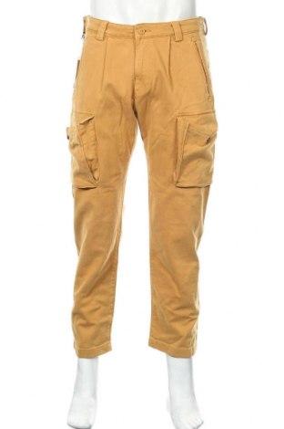Мъжки панталон Napapijri, Размер M, Цвят Кафяв, 97% памук, 3% еластан, Цена 171,75лв.