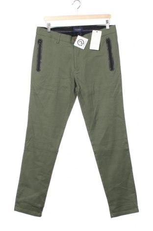 Pantaloni de bărbați Scotch & Soda, Mărime M, Culoare Verde, 98% bumbac, 2% elastan, Preț 323,85 Lei