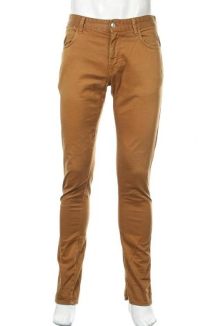 Мъжки панталон Zara Man, Размер M, Цвят Кафяв, Цена 28,50лв.