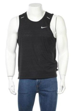 Мъжки потник Nike, Размер M, Цвят Черен, Полиестер, Цена 42,00лв.