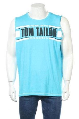 Мъжки потник Tom Tailor, Размер XL, Цвят Син, 100% памук, Цена 19,50лв.